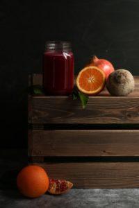 photo jus de fruits frais