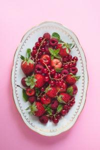 photos de fruits bio