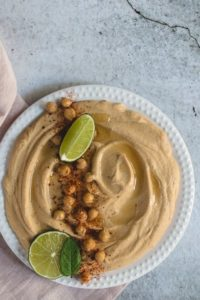 photo de houmous traiteur